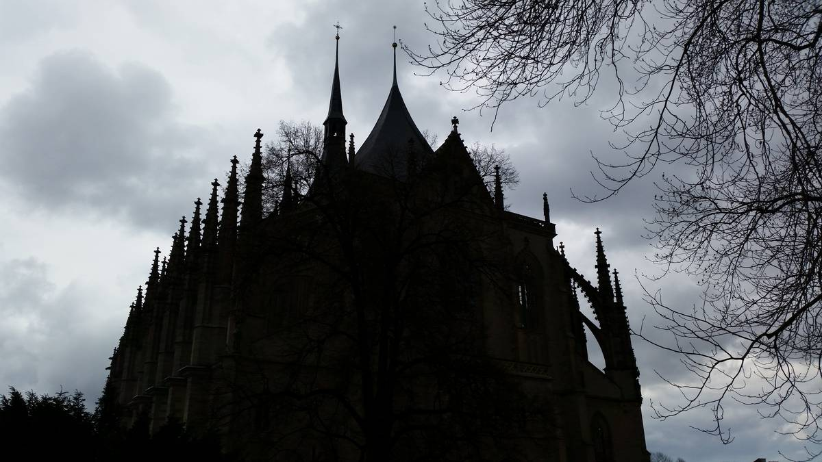 St Barbara Cathedral in Kutna Hora