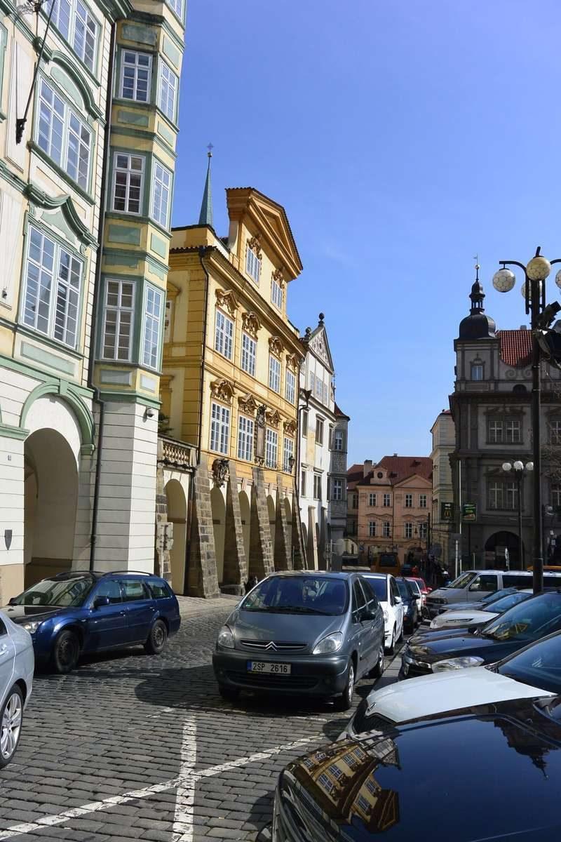 Parkoviste Malostranske, Prague