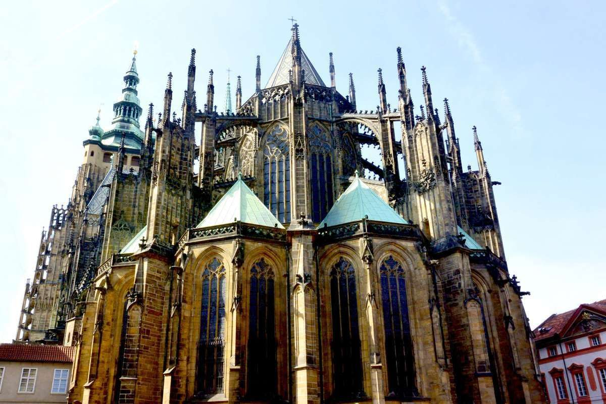 St. Vitus Cathedral at Prague Castle, Czech Republic