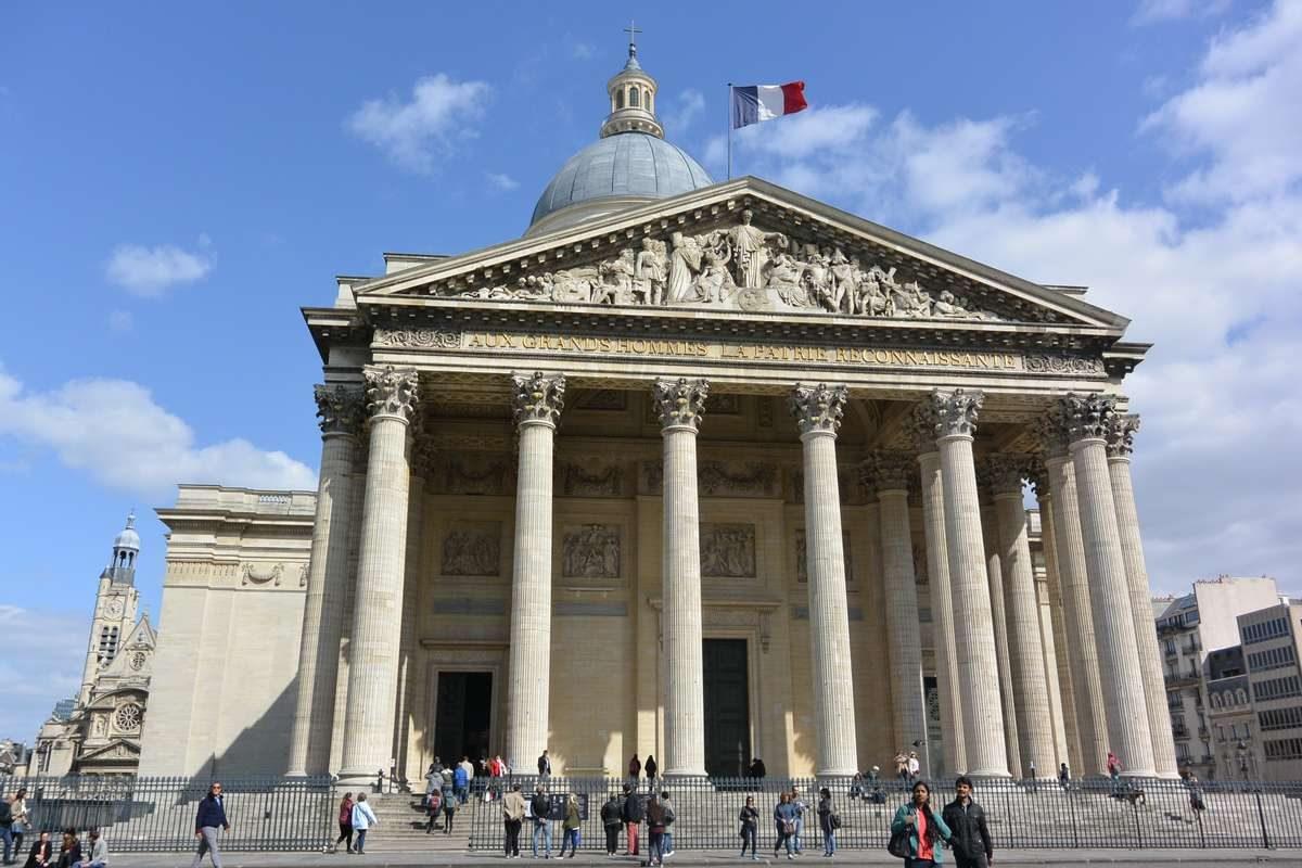 The Pantheon, Latin Quarter, Paris, France