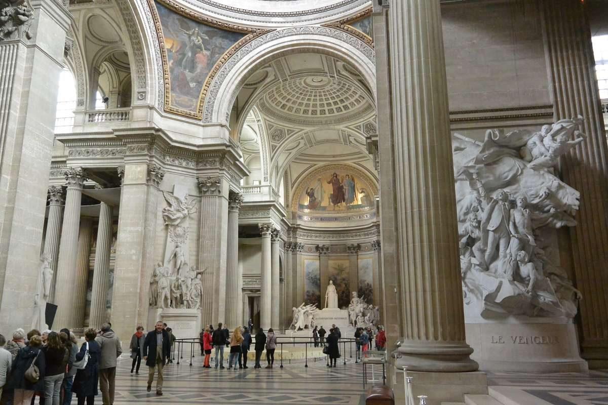 The Pantheon, blt 1790, Paris, France