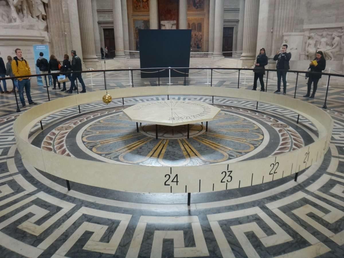 The Foucault Pendulum, Pantheon, Paris, France