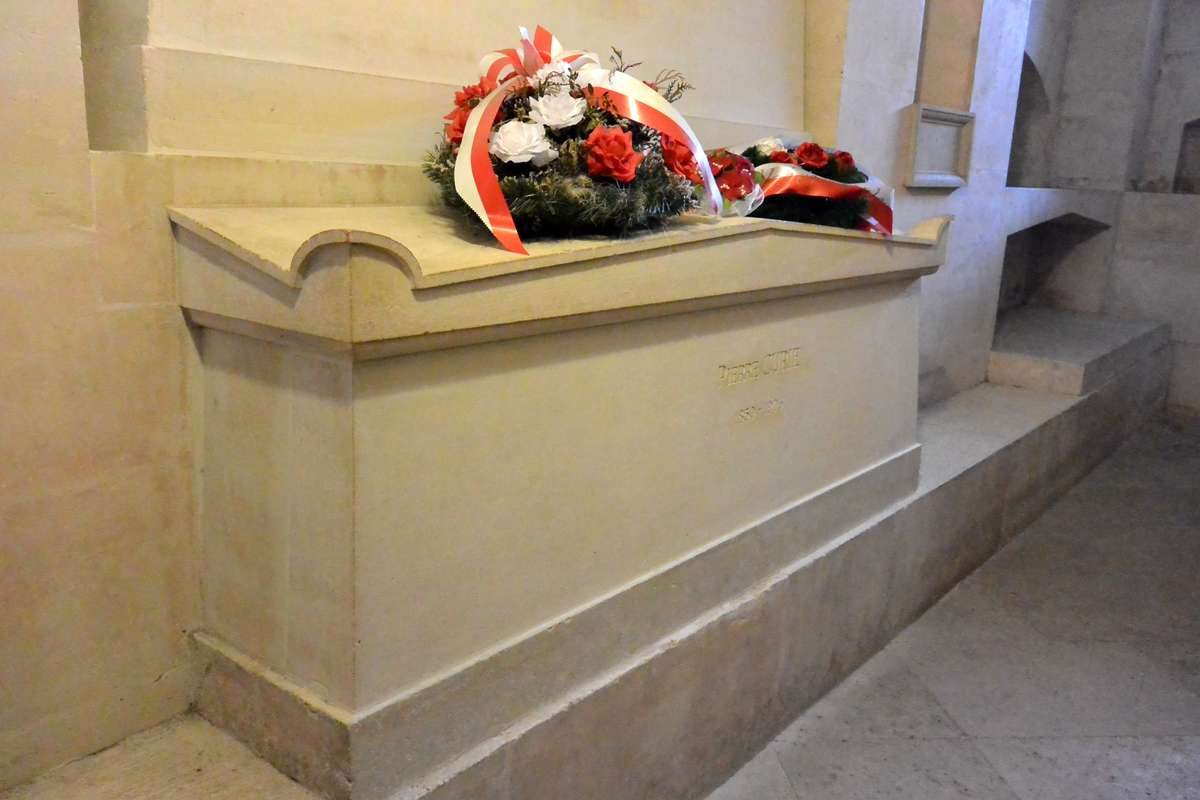Tomb of Marie Curie, Pantheon in Paris