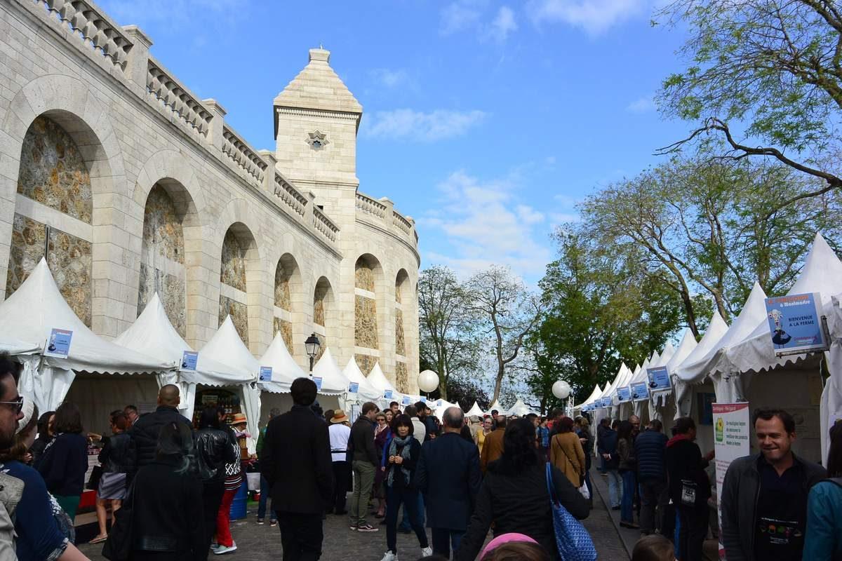 Sacre-Coeur market, Paris