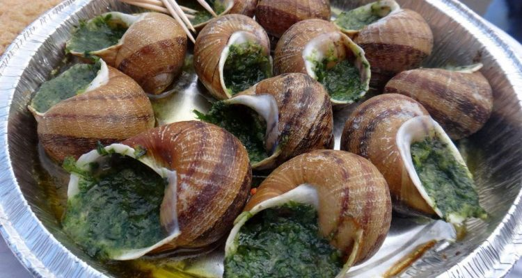 escargots at Sacre-Coeur, Paris
