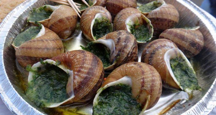 escargots at Sacre-Coeur, Paris