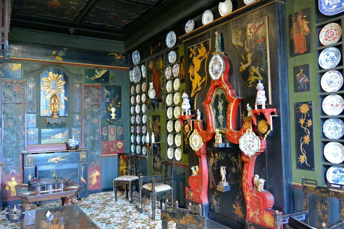 """""""Chinese Lounge"""" in the Maison de Victor Hugo, Paris"""
