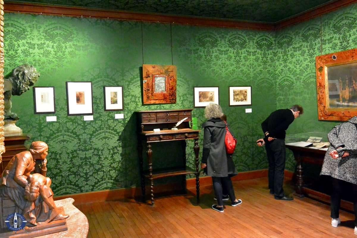 Study in the Maison de Victor Hugo in Paris
