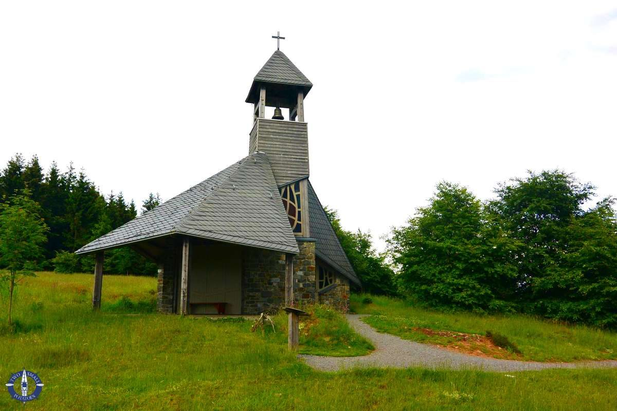 Quernstkapelle chapel in Kellerwald-Edersee National Park, Germany