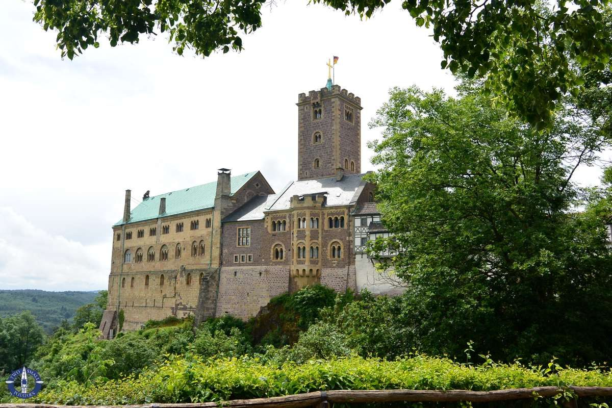 Exterior walls of Wartburg Castle in Germany