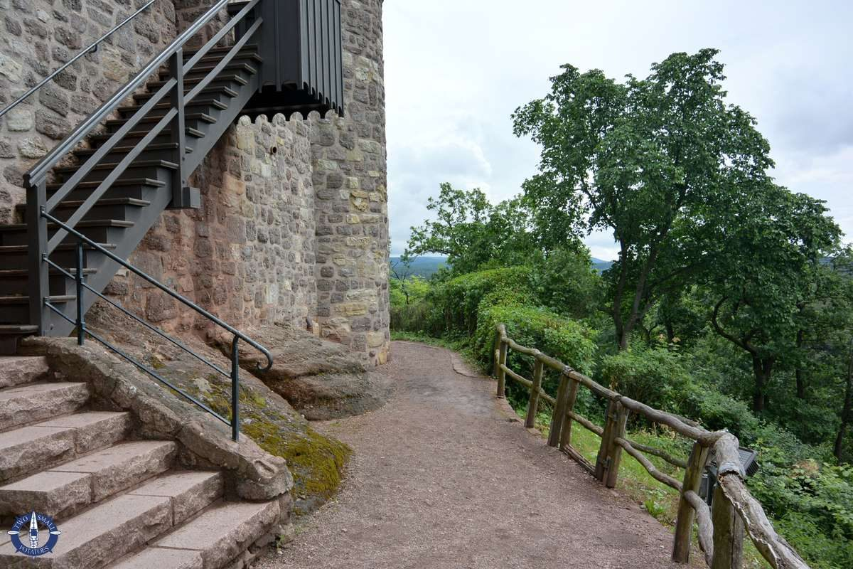 Trail around Wartburg Castle