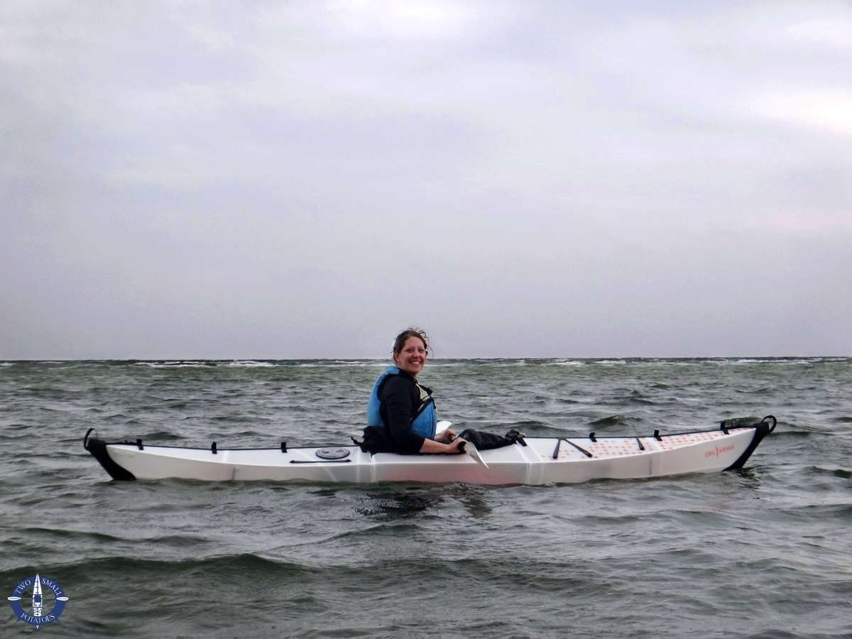 Oru kayaking in the Baltic Sea of Germany