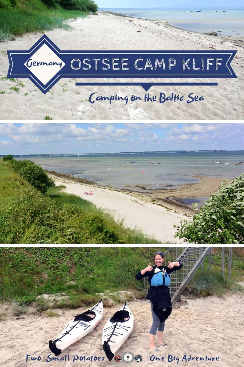 Camping at Ostsee-Camp Kliff offers superb sea views and the beach is ideal for kayaking, but check our travel tips before you book a trip.  #BalticSea #Germany #TatersTravels