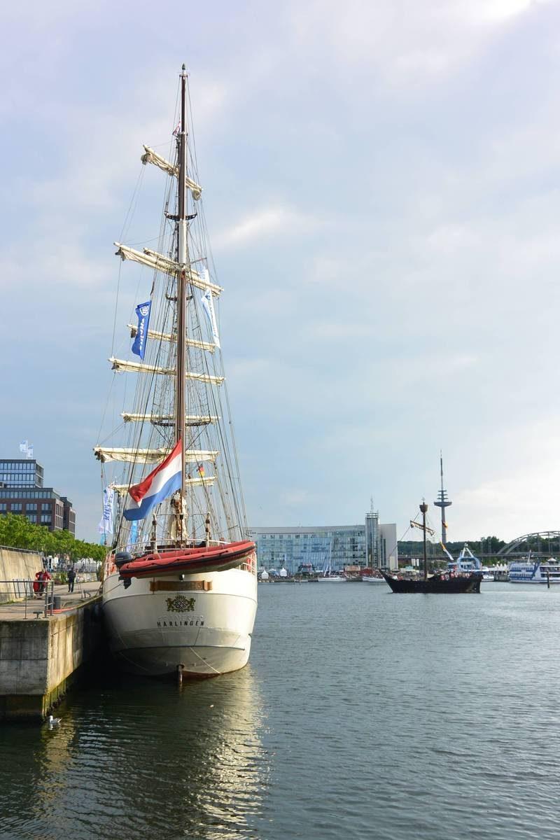 Artemis and Bremerhaven at Kiel Week, Germany