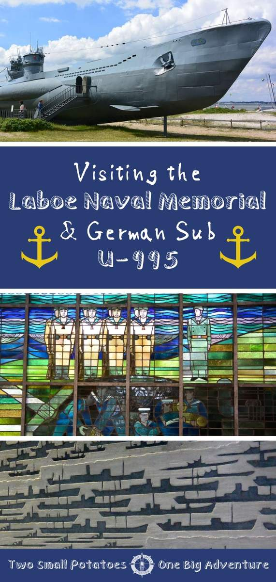 What to know before visiting the Laboe Naval Memorial and U-995, the last surviving German submarine of her kind.  #TatersTravels #Germany #WWII