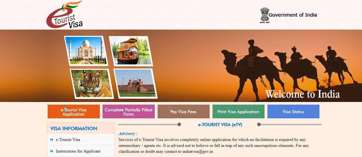 Applying for an Indian e-Tourist Visa