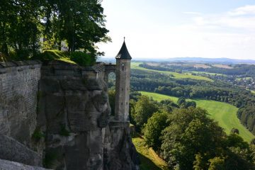 Hungerturm Rosschen of Konigstein Fortress, Germany