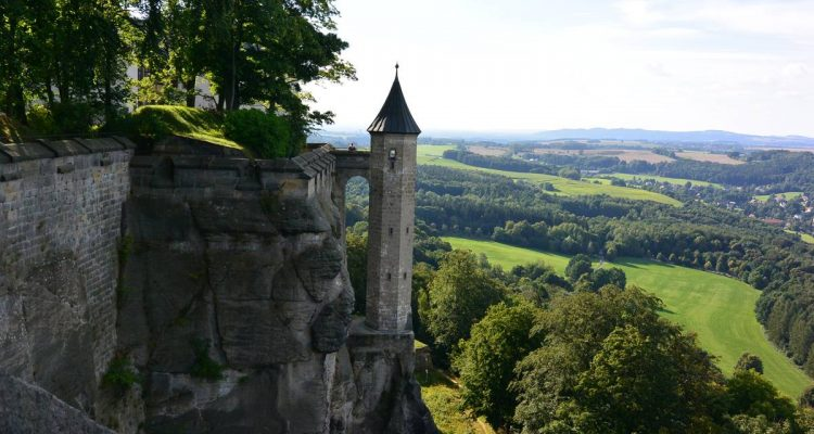 Hungerturm Rosschen of Konigstein Fortress, Germany