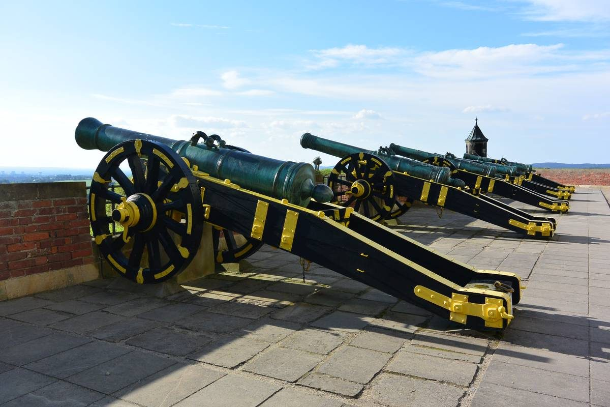 George's Battery of Konigstein Fortress, Germany