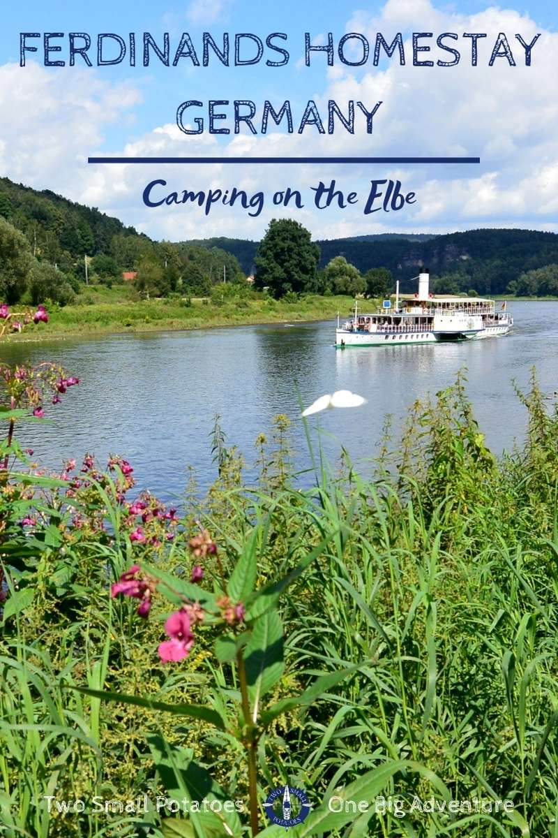 Nature lovers visiting Koenigstein Fortress in Germany will love camping at Ferdinands Homestay, a hostel right on the Elbe River.