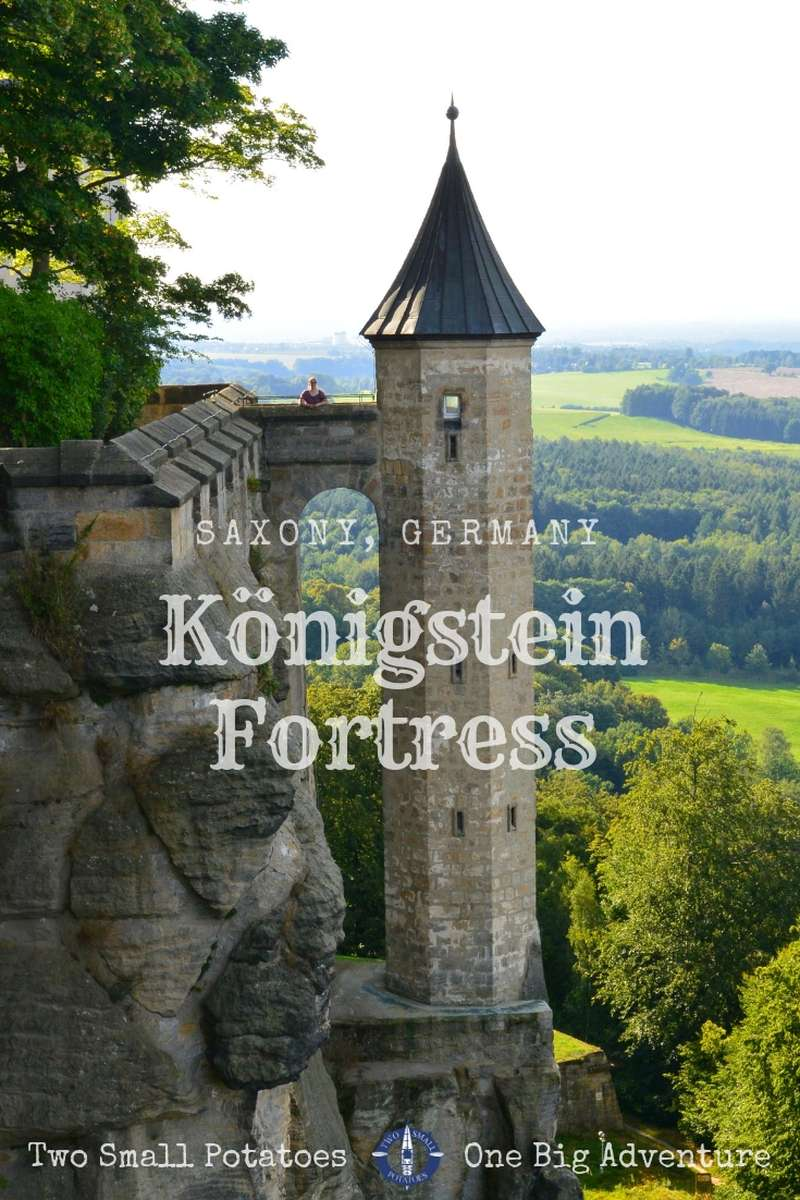Embrace your inner princess with a visit to Koenigstein Fortress, home to one of Germany's most picturesque fairy tale towers. @GermanyTourism #KoenigsteinFortress #TatersTravels