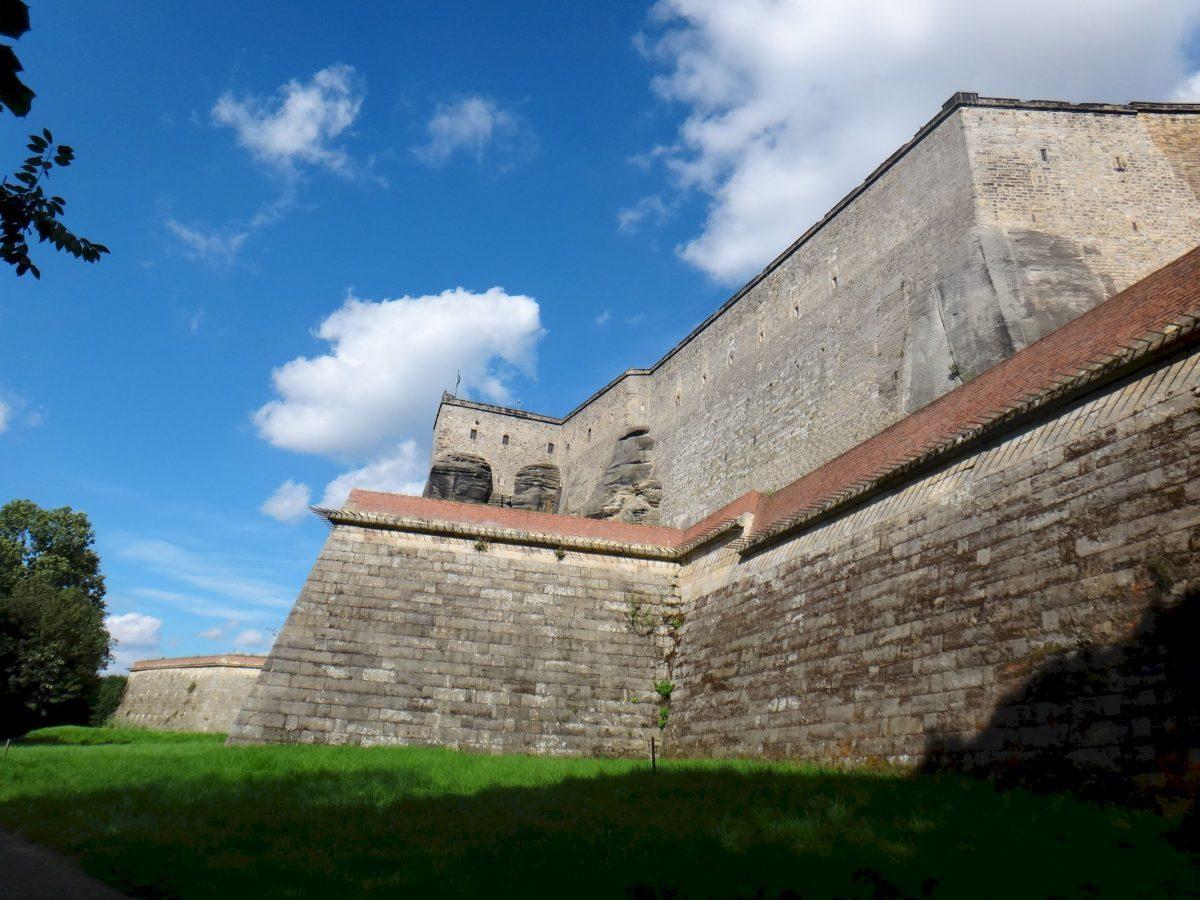 Königstein Fortress in Saxony, Germany