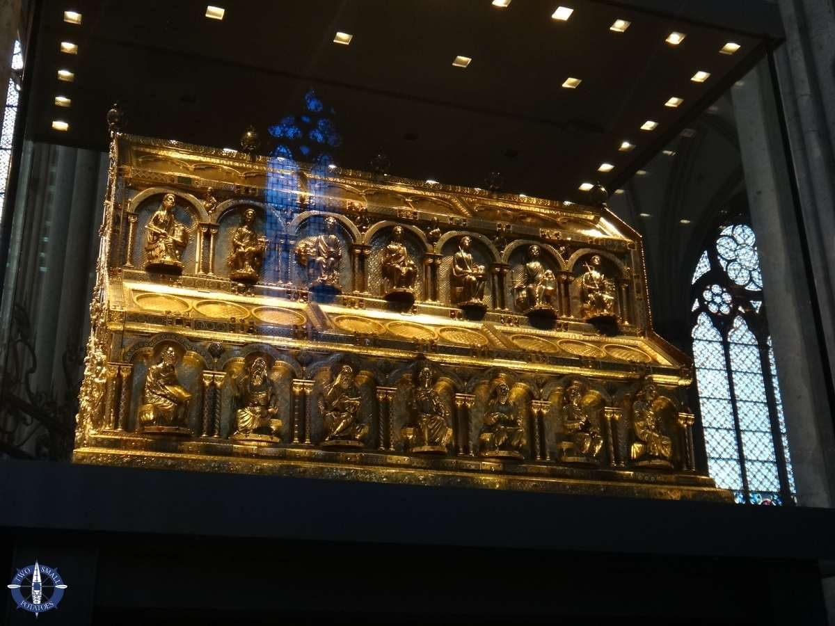 Shrine of the Magi at Cologne Cathedral in Germany