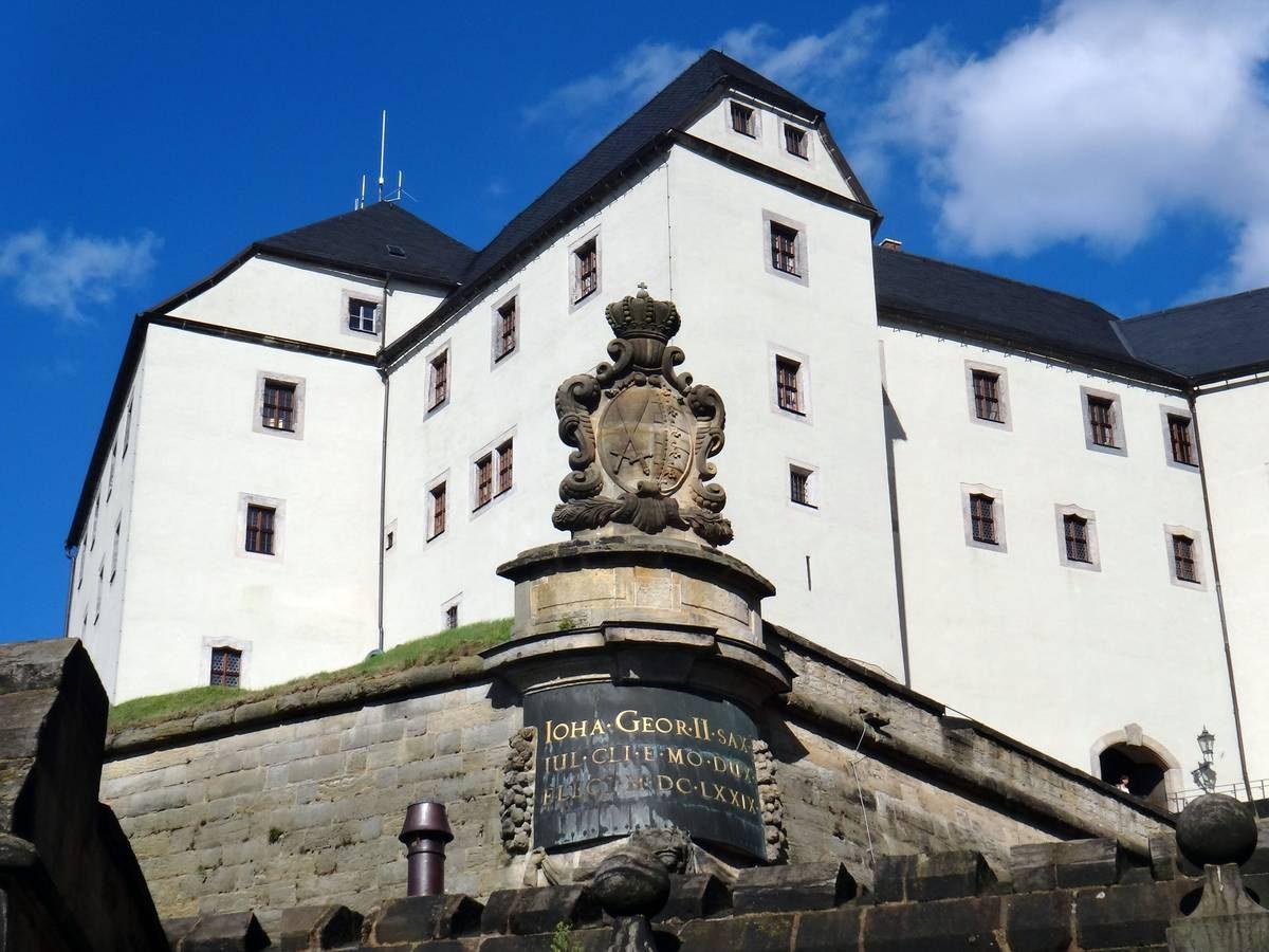 Ravelin Gateway of Königstein Fortress, Germany