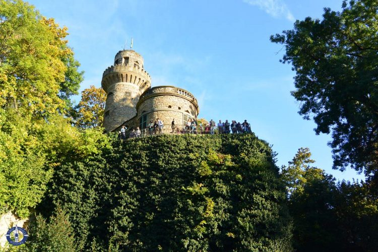Rapunzel's Tower at the Ludwigsburg Palace in Germany