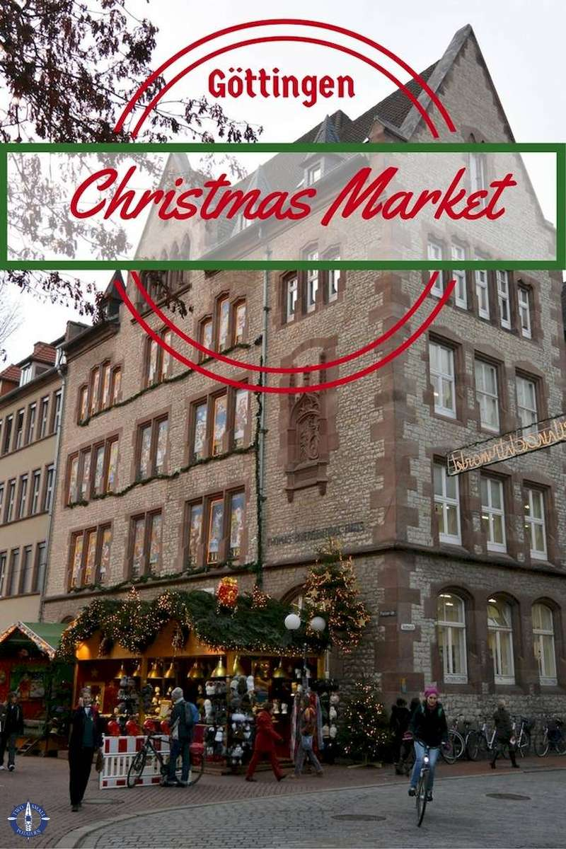 Make sure not to miss these highlights of the Goettingen Christmas Market in Lower Saxony   #Germany #Christmasmarket #TatersTravels