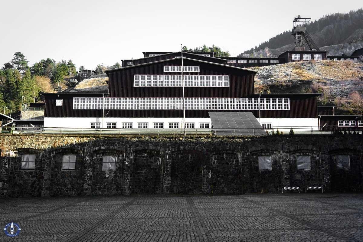 Historic buildings of Rammelsberg Mine in Goslas
