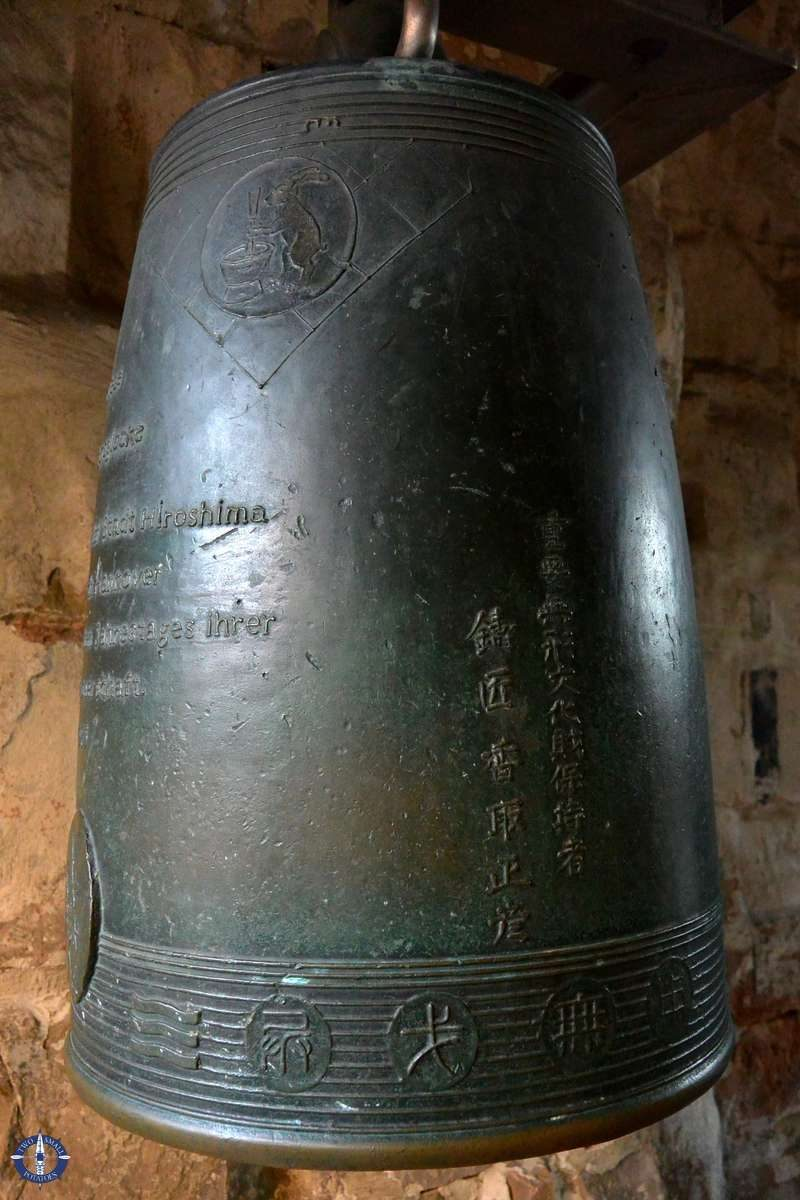 Peace Bell at the Aegidienkirche from Hiroshima