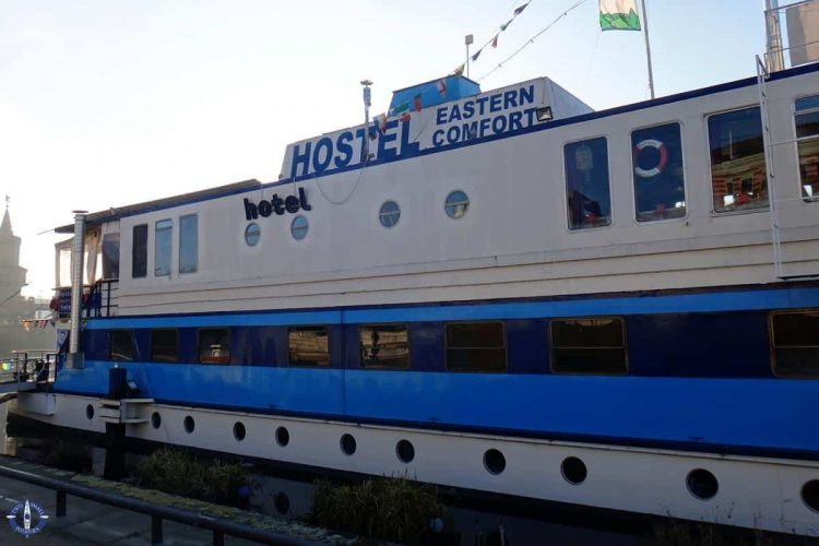 Eastern Comfort Hostel Boat, one of the best places to stay in Berlin