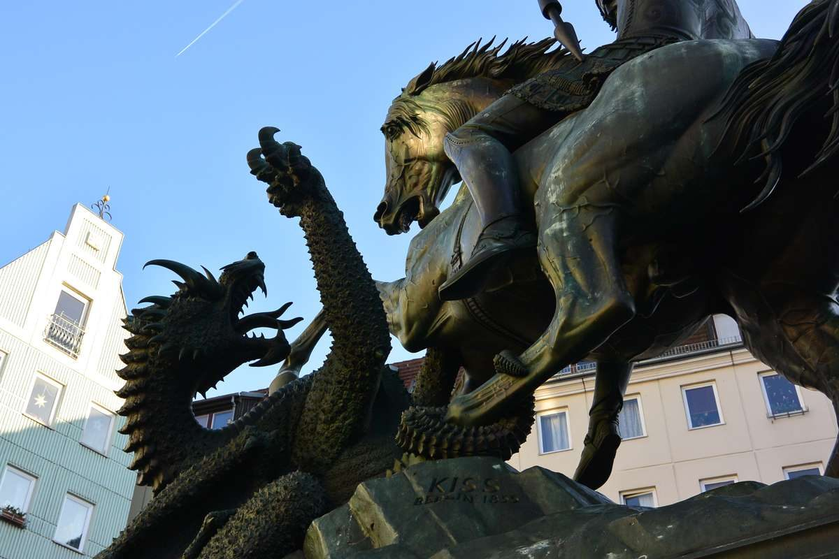 St George the Dragon Slayer in Berlin