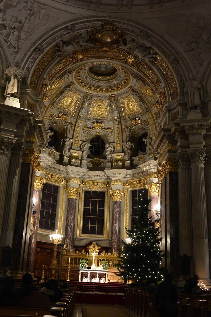 Interior of the Berliner Dom
