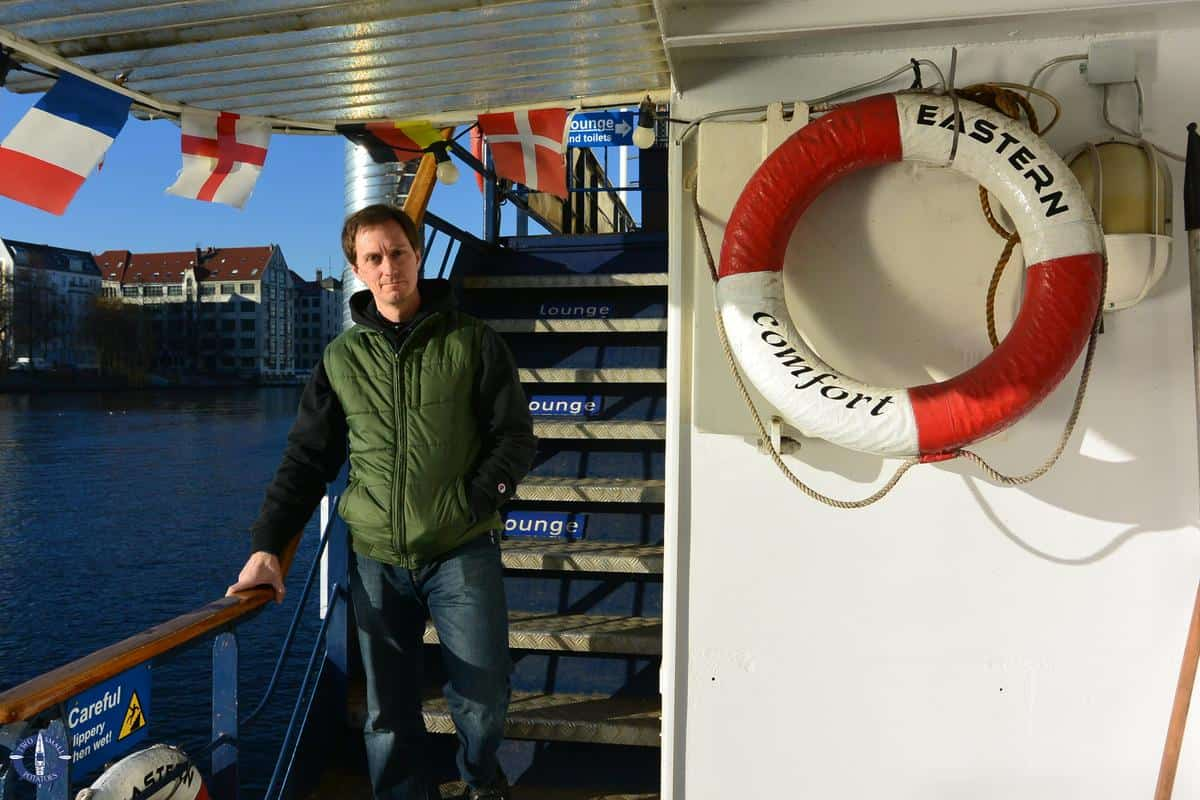 Glamping on the Eastern Comfort Hostel Boat for New Year's