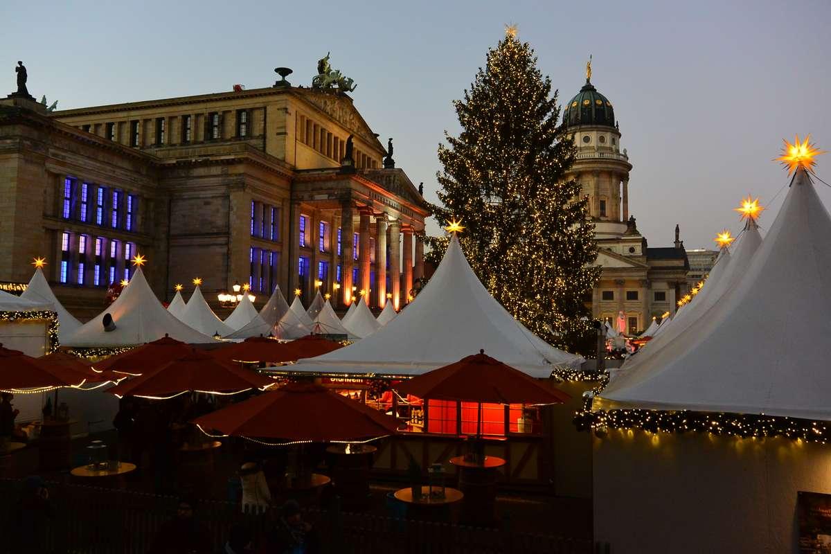 Christmas Market in Berlin, Germany