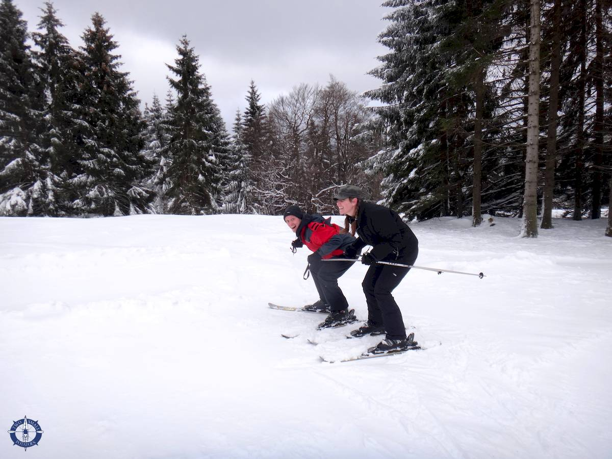 Our first time skiing in Germany, Harz Mountains