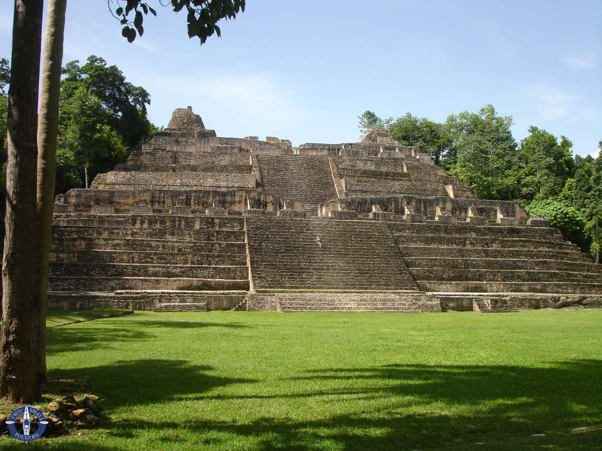 Mayan ruins of Caracol in Belize, bucket list item