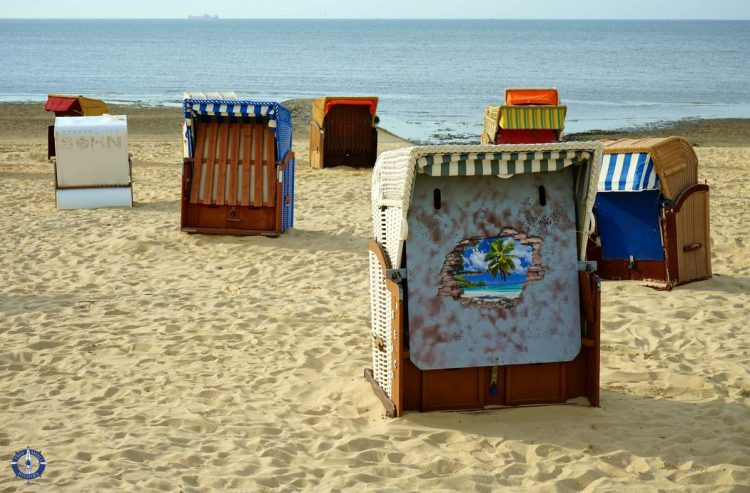 Duhnen Strand, one of the best things to do in Cuxhaven, Germany