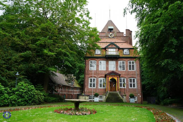 Ritzebuttel Castle in Cuxhaven, Germany