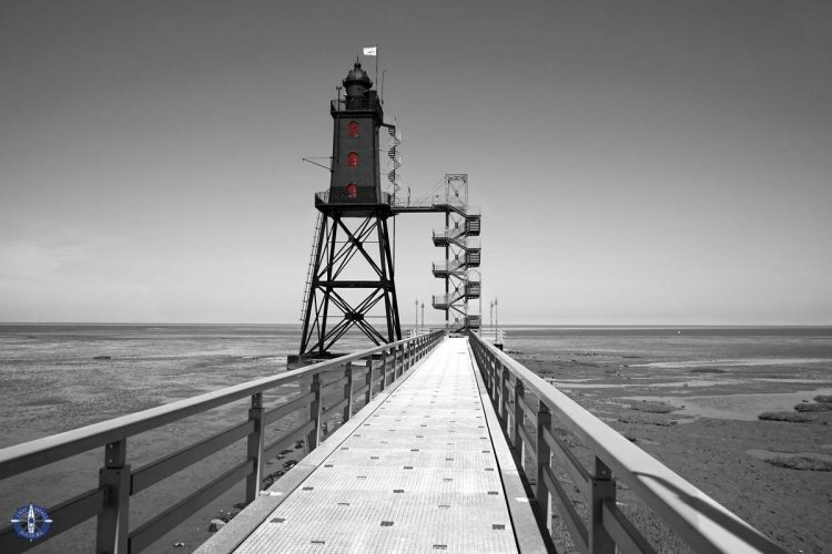 Image of Obereversand Lighthouse for sale on Fine Art America by Two Small Potatoes