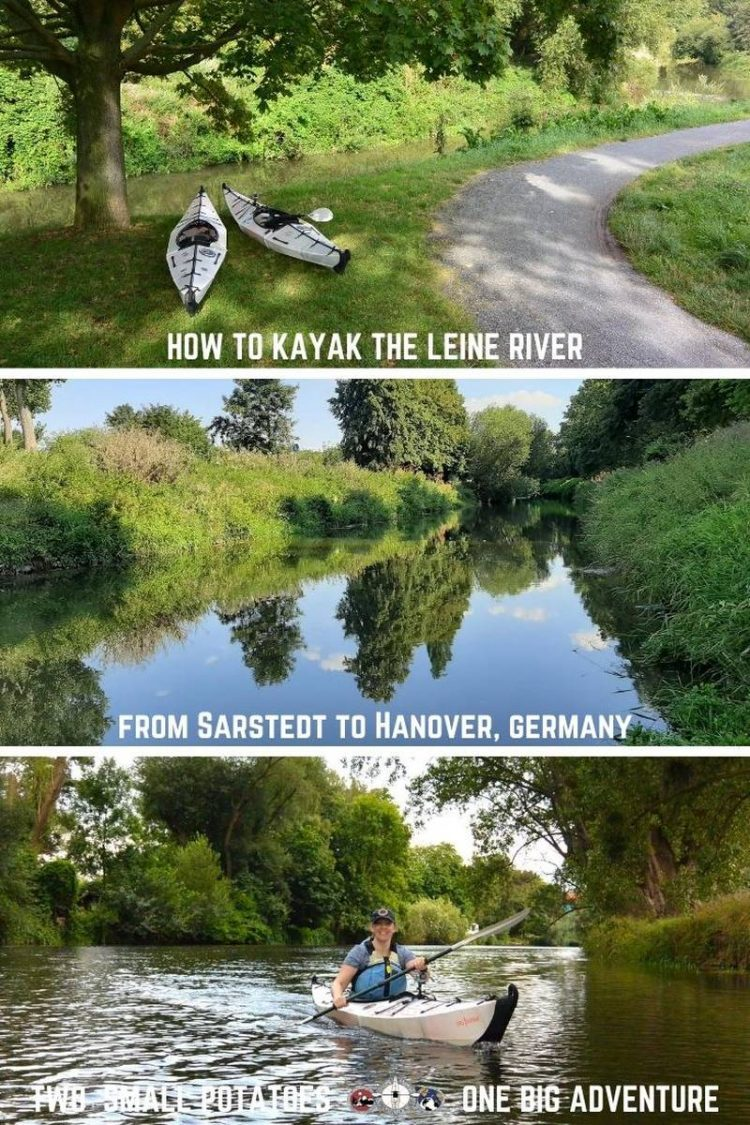 PIN for kayaking the Leine River in Germany, Sarstedt to Hanover
