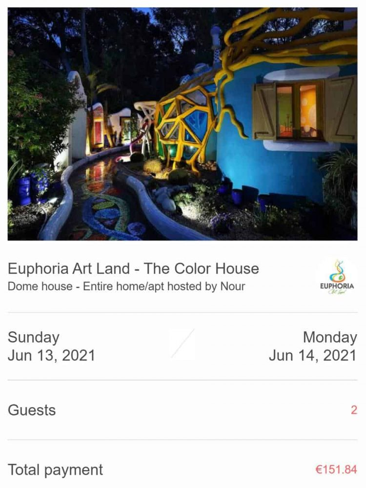 Non-refundable booking with Euphoria Art Land in Cyprus
