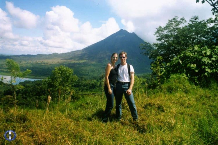 Travis and Carrie from Two Small Potatoes in Costa Rica